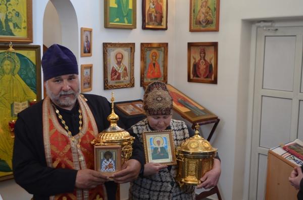 В ИК-6 побывали мощи Святителя Спиридона Тримифунтского и святой блаженной Матроны Московской