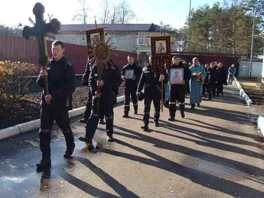 В колонии-поселении №3 состоялся крестный ход с Казанской иконой Божией Матери