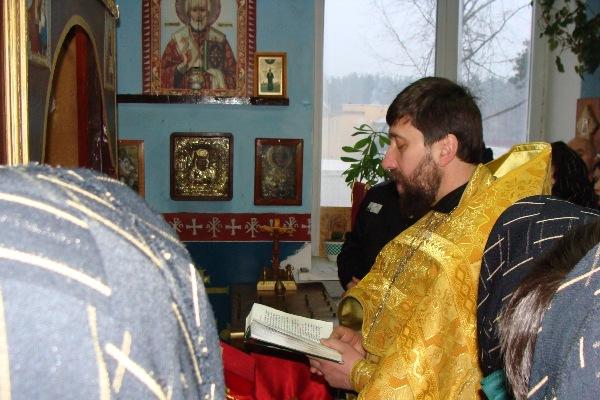 Совершение Божественной литургии в КП-3