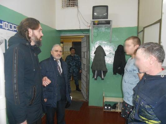 Представители двух религий посетили СИЗО-1