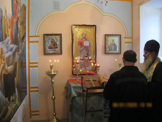 В пенитенциарных учреждениях региона состоялись праздничные богослужения
