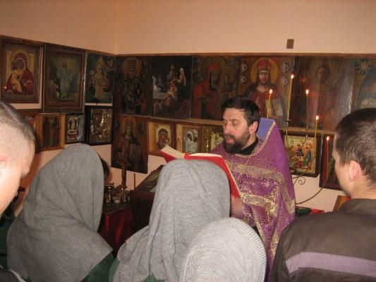 Богослужение состоялось в КП-3