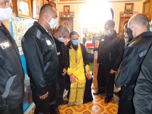 В ИК-4 состоялась встреча осужденных со священнослужителем