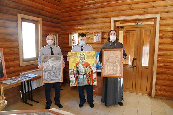 В учреждениях УФСИН региона подвели итоги конкурса православной живописи осужденных «Явление»