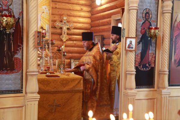 В Брянской ВК состоялась литургия в День памяти Святителя Филарета Московского